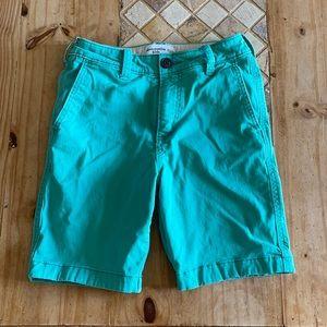 Green Abercrombie Kids Shorts Size 11/12 🔥🔥